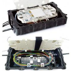 Boitier d'épissurage Optique 24/36/ 48 FO (cassettes et accessoires inclus) OPTICUBE Boitiers d'épissurage étanches 111,15€B...