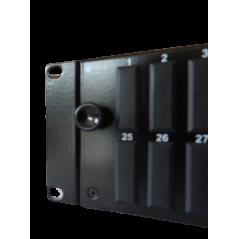 Tiroir optique 2 U coulissant vide, capacité 48 SC duplex, noir avec 1 pre FIBREOS Tiroirs optiques vides 54,14€Tiroirs opti...
