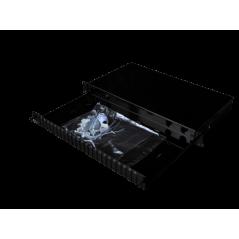 Tiroir optique coulissant vide, capacité 12 SC duplex, noir avec 1 presse étoupe FIBREOS Tiroirs optiques vides 32,46€Tiroir...