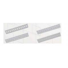 Support traversées 12 ST / FC pour coffret moyen modèle BKT Coffrets fibres 7,50€Coffrets fibres
