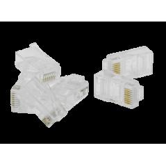 Plug Mâle traversant UTP AWG 26 a sertir (X50) FIBREOS Noyaux RJ45 23,40€Noyaux RJ45