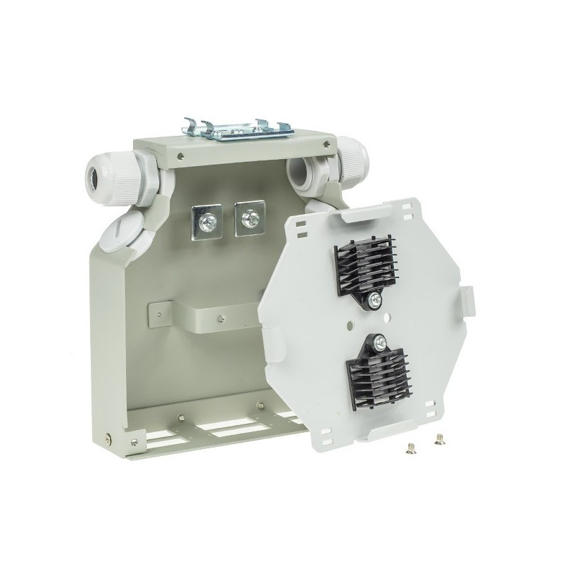 Boitier optique RAIL DIN pour 6 SCDX FIBREOS Optiques 45,00€Optiques
