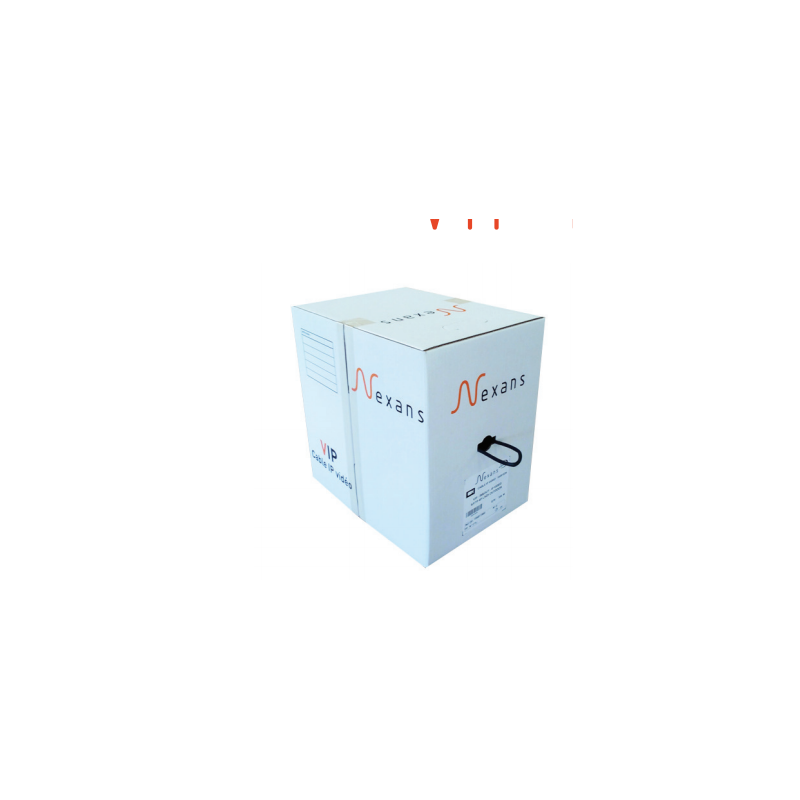 Câble 4 paires S/FTP IP VIDEO LSZH AWG26 OUTDOOR BOX DE 305M NEXANS CABLES CUIVRE 278,62€CABLES CUIVRE