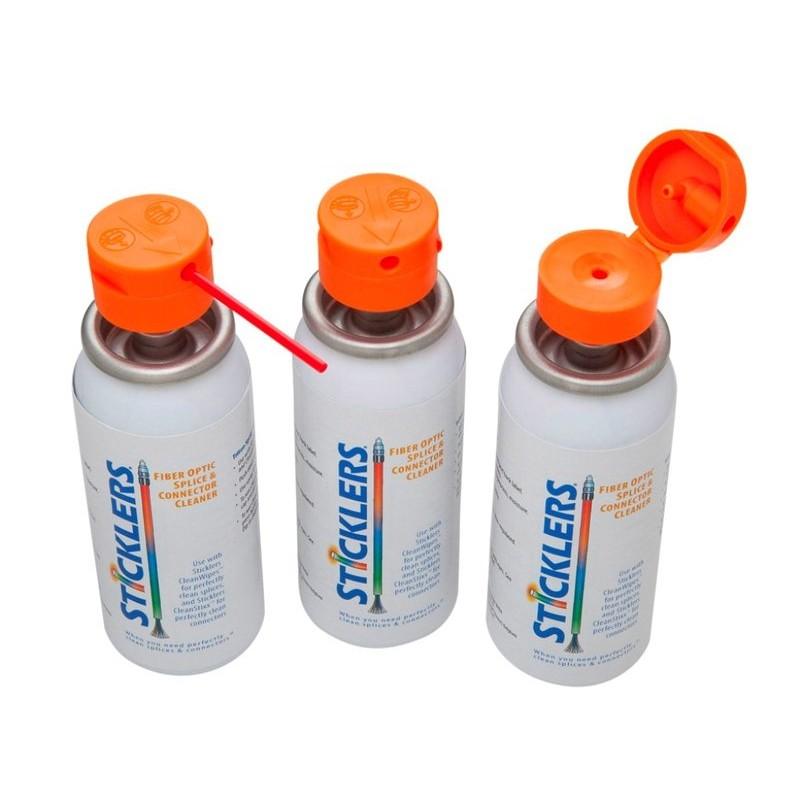Solvant de nettoyage connecteurs optiques en spray 85 gr.  DESTOCKAGE 11,16€DESTOCKAGE