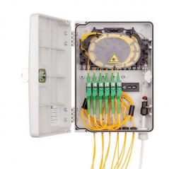 Point d'accès Fibre Optique URM 6 SC / 12 DLC  Coffrets fibres 65,33€Coffrets fibres