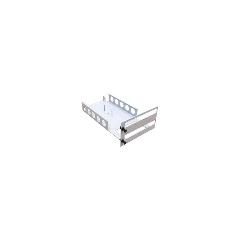Module Vide pour 2 cassettes (livré vide)  Chassis de distribution optique 19 '' 31,52€Chassis de distribution optique 19 ''