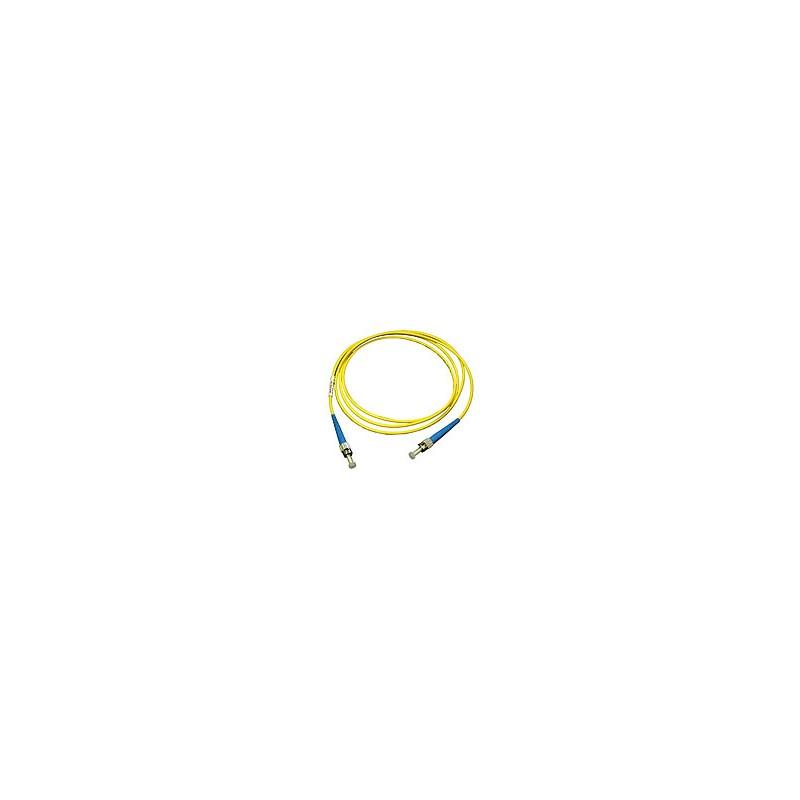 Jarretière optique mono ST/ST simplex jaune 2m  Cordons mono simplex 4,59€Cordons mono simplex