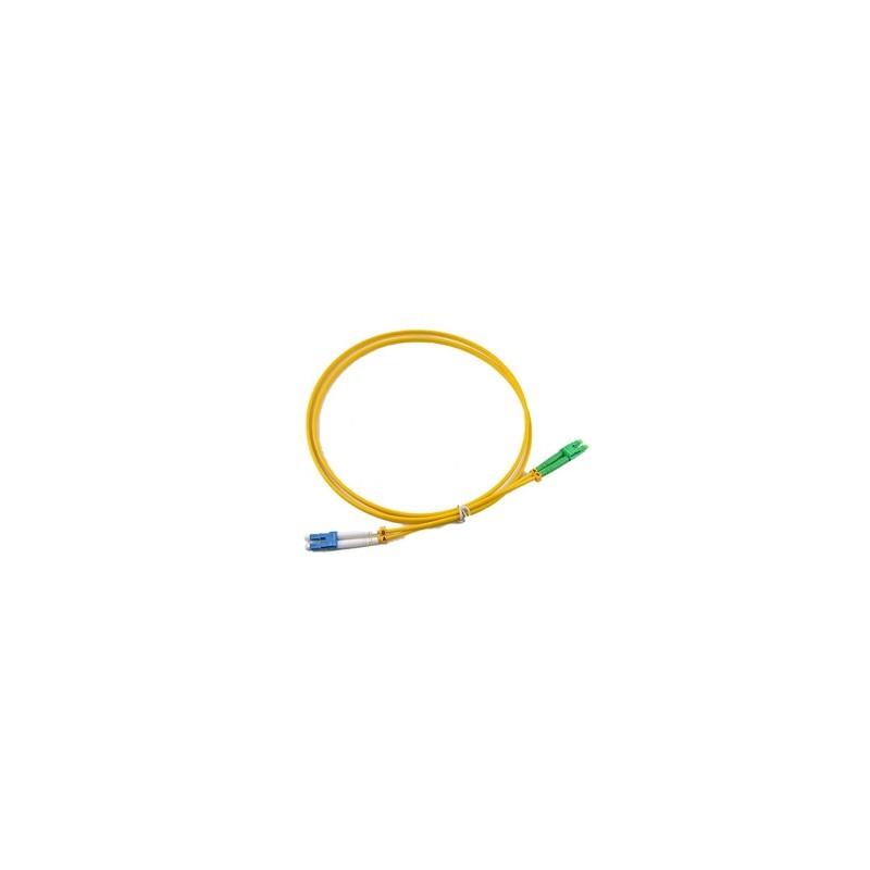 Jarretière optique mono LCAPC/LCPC duplex Zipp jaune  Cordons mono duplex 16,16€Cordons mono duplex