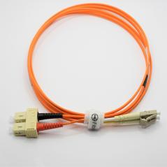 Jarretière optique 50/125 OM2 LC/SC duplex Zipp, orange, LONGUEUR A CHOISIR  Cordons OM2 7,59€Cordons OM2