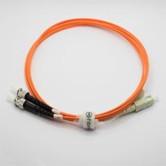 Jarretière optique 50/125 OM2 SC/ST duplex Zipp, orange, LONGUEUR A CHOISIR  Cordons OM2 7,43€Cordons OM2