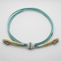 Jarretière optique 50/125 OM3 LC/LC duplex Zipp, turquoise LONGUEUR A CHOISIR  Cordons OM3 8,07€Cordons OM3