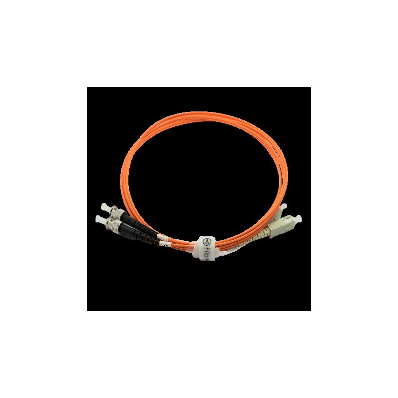 Jarretière optique 62.5/125 OM1 SC/ST duplex Zipp, orange, LONGUEUR A CHOISIR  Cordons OM1 7,43€Cordons OM1