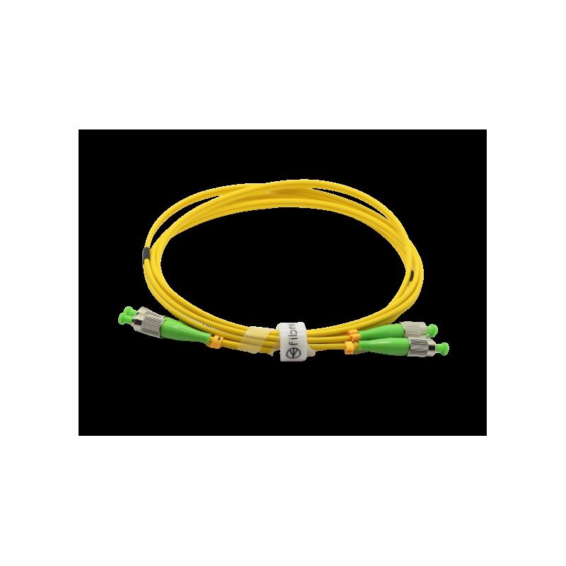 Jarretière optique mono FCAPC/FCAPC duplex Zipp jaune  Cordons mono duplex 12,59€Cordons mono duplex