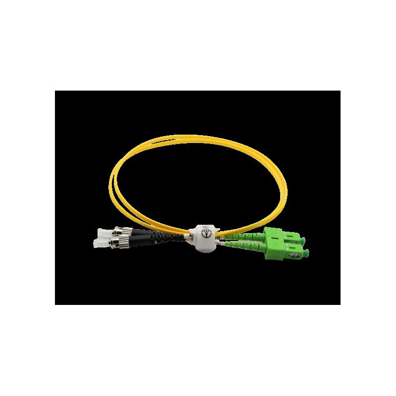 Jarretière optique mono FCPC/SCAPC duplex Zipp jaune  Cordons mono duplex 10,41€Cordons mono duplex