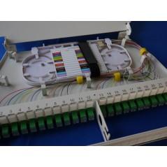 Tiroir optique pivotant équipé de 48 traversées et 48 pigtails SCAPC G657  Tiroirs optiques équipés 246,33€Tiroirs optiques ...