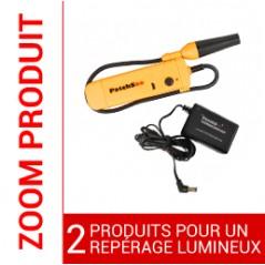 PRO-PatchLight : Injecteur de lumière Rouge + chargeur PATCHSEE Cordons RJ45 PATCHSEE 51,84€Cordons RJ45 PATCHSEE