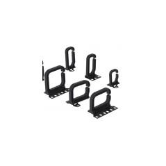Anneaux passe-câble 80 x 80 mm, plastique (sachet 5 pièces) CONTEG Accessoires baies et coffrets 5,12€Accessoires baies et c...