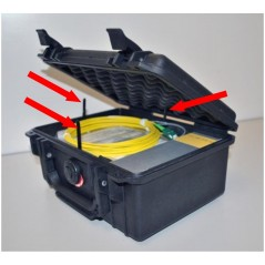 Bobine amorce Monomode G652d SCAPC/STUPC 1000 M Avec cassette intégrée  Bobines amorces 238,50€Bobines amorces