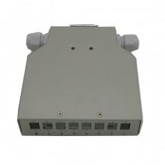 Boitier optique RAIL DIN pour 8 SCSX/8LCDX FIBREOS Optiques 45,00€Optiques
