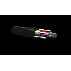 Câble Microgaine Aéro/Sout 12FO SM armé fibre de verre PE 1T12 G652D  Cables optiques monomodes 0,99€Cables optiques monomodes