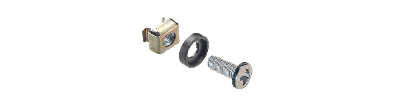 Accessoires pour baies et coffrets, étagères, management des câbles ...